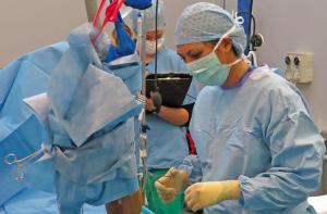 Safia Barakzai at Equine Surgical Referrals